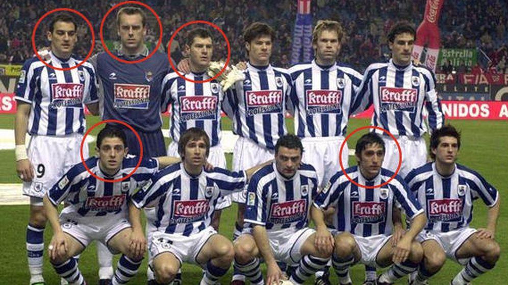 Foto: Jugadores extranjeros de la Real Sociedad con sociedades 'offshore'.