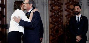 Post de La esposa de Quim Torra, la (ahora ex) primera dama de Cataluña que se mantuvo al margen