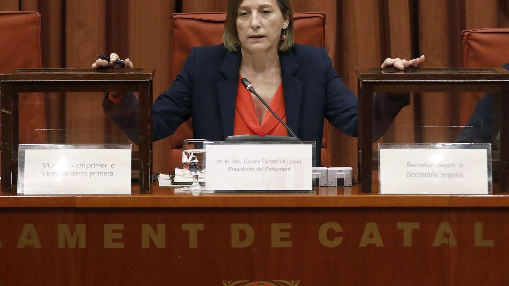 Foto: La presidenta del Parlament, Carme Forcadell. (Reuters)