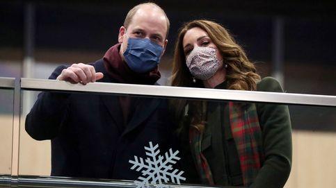 Kate y Guillermo inician la gira 'Christmas Express': 2.000 km en 48 horas y sin ducha