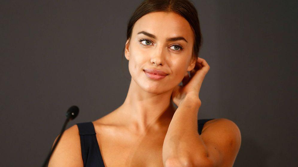 Foto: La modelo Irina Shayk durante una rueda de prensa el pasado mes de agosto. (Getty)
