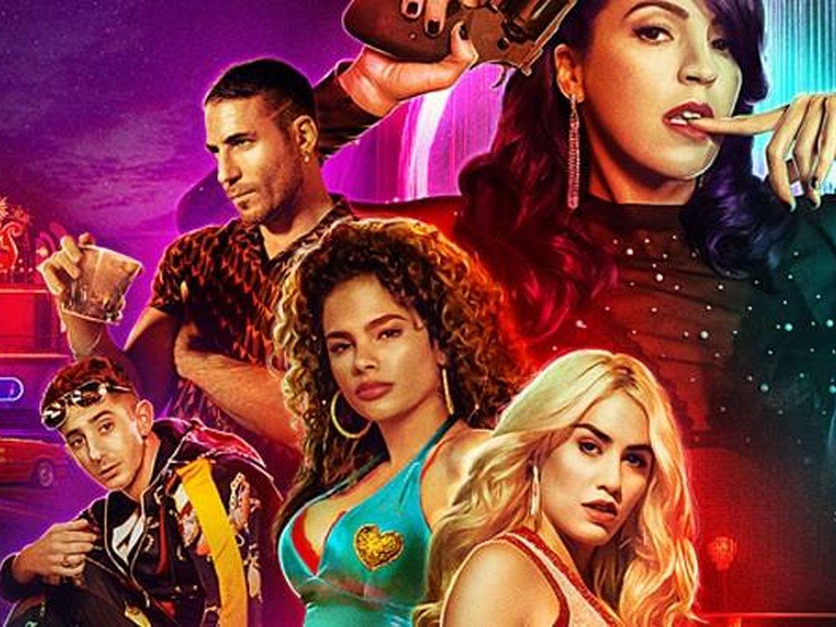 Foto: Cartel promocional de 'Sky rojo'. (Netflix)