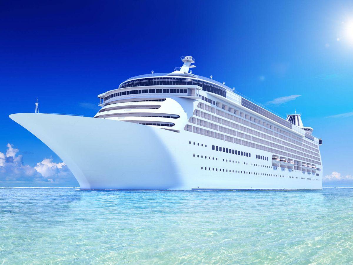 Foto: El crucero de lujo The World en plena singladura. (The World)