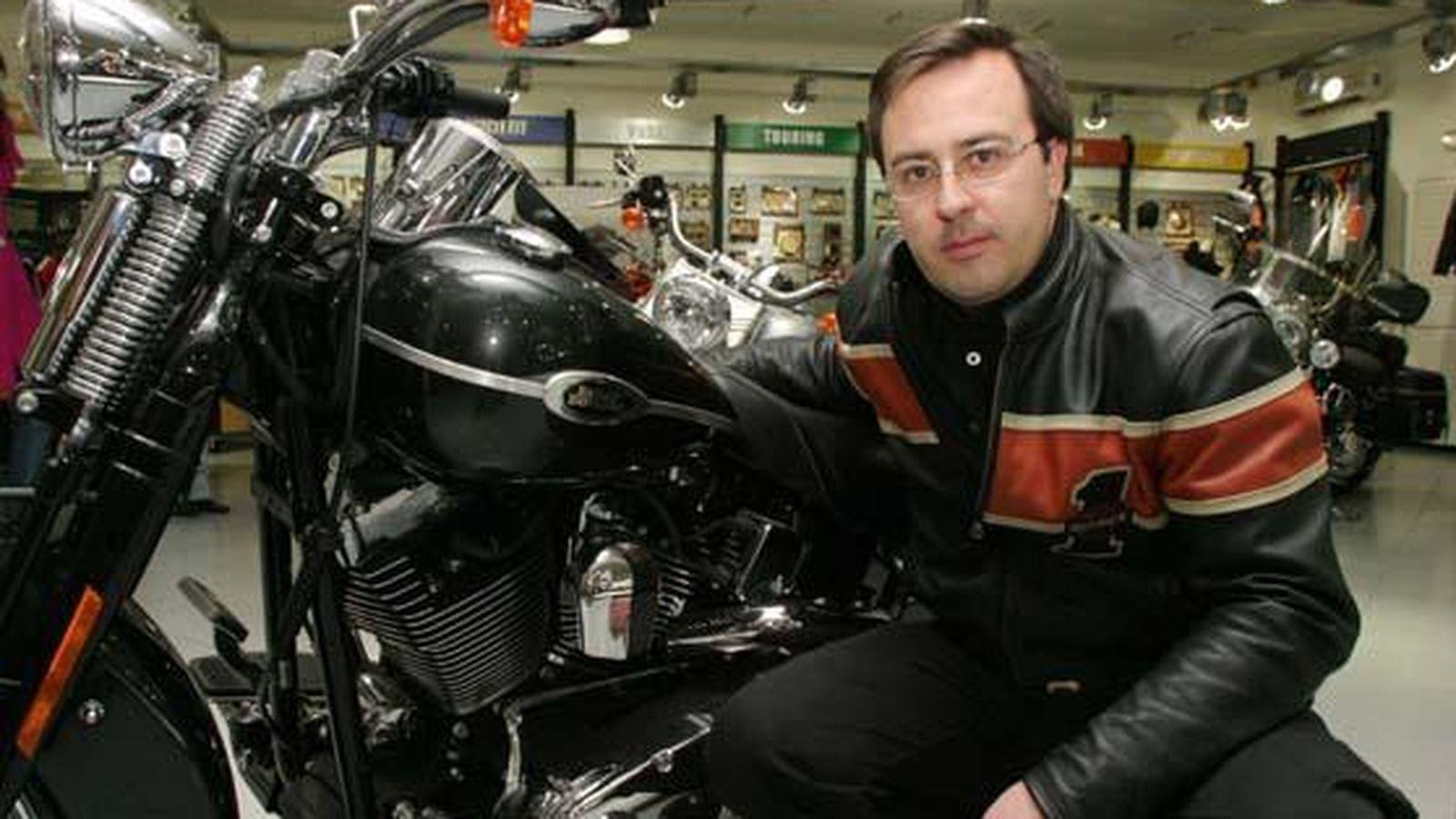 Foto: Josep Grañó, el ex director general de Harley-Davidson.