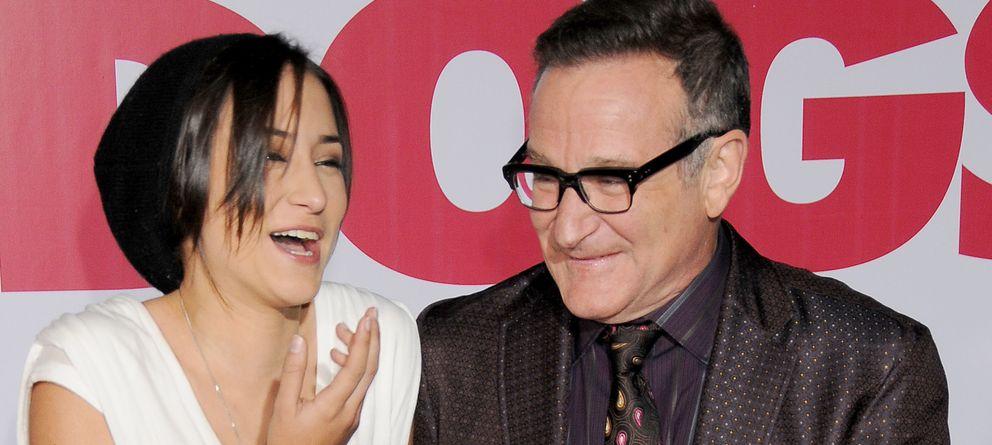 Foto: Zelda y Robin Williams en una imagen de archivo (Gtres)