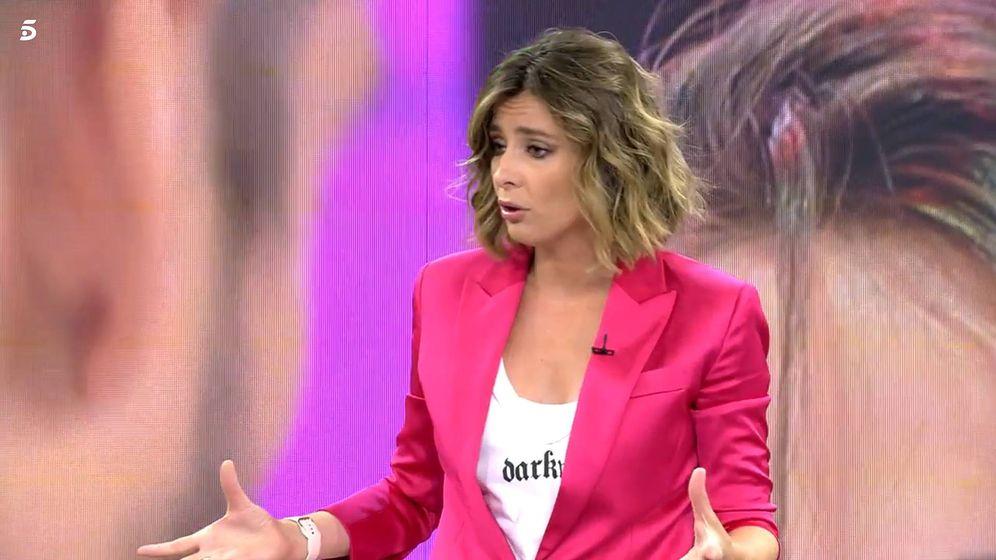 Foto: Sandra Barneda, en 'Viva la vida'. (Telecinco)