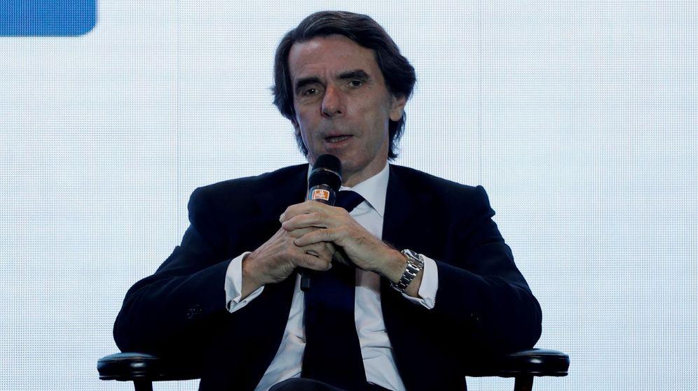 Foto: Fotografía de archivo del expresidente José María Aznar. (EFE)