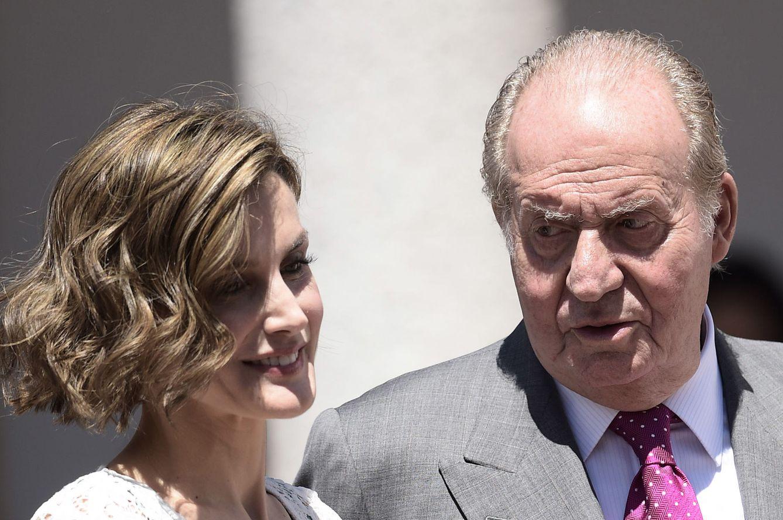 Foto: La Reina Letizia y Don Juan Carlos (Gtres)