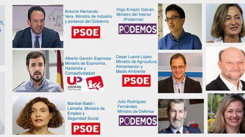 Podemos le organiza el Gobierno a Sánchez: Garzón a Economía y Errejón a Interior