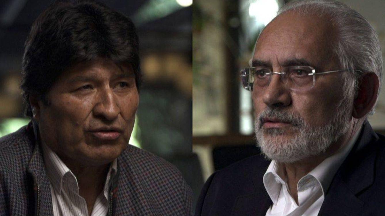 'Salvados': Gonzo se sienta con Evo Morales y Carlos Mesa para analizar las dos Bolivias