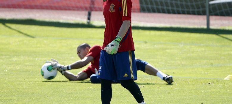 Foto: Casillas debe recuperar la titularidad con el Real Madrid para asegurar su presencia en el Mundial. (EFE)
