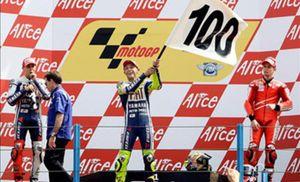 Rossi se llevó la victoria con una superioridad manifiesta