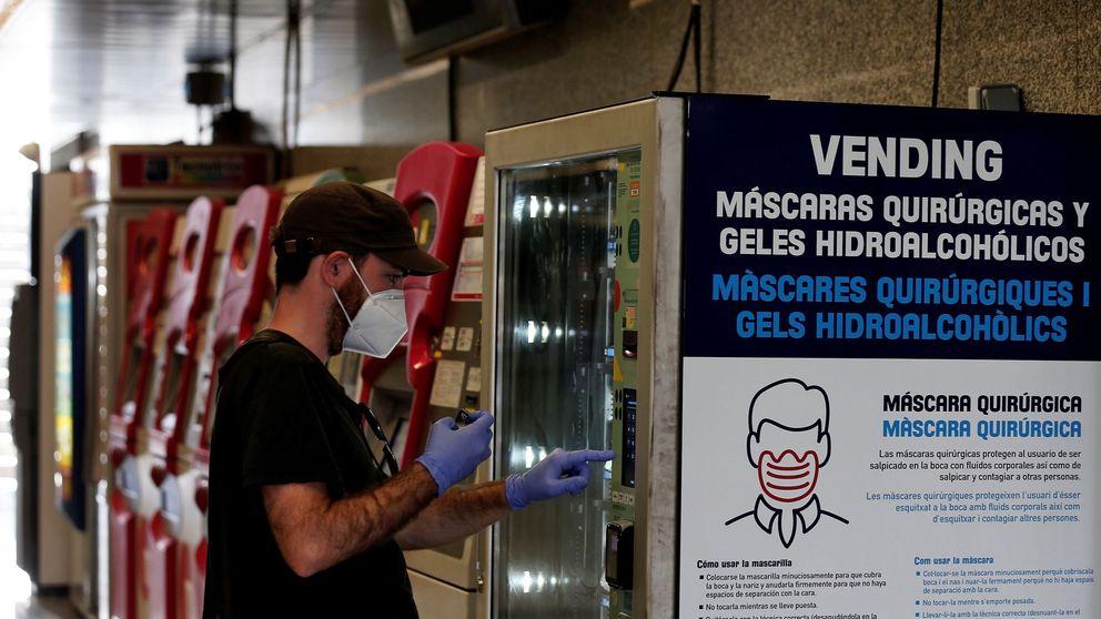 Valencia se cubre las espaldas en la fase 1 con mascarillas y geles en el metro