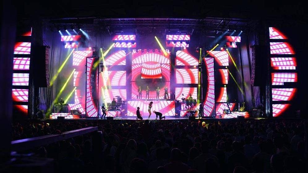 Foto:  Actuación de la orquesta Panorama. (Panorama)
