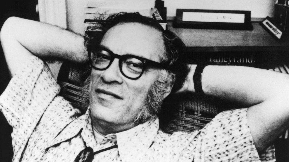Foto: Isaac Asimov, en 1980. (Cordon Press)