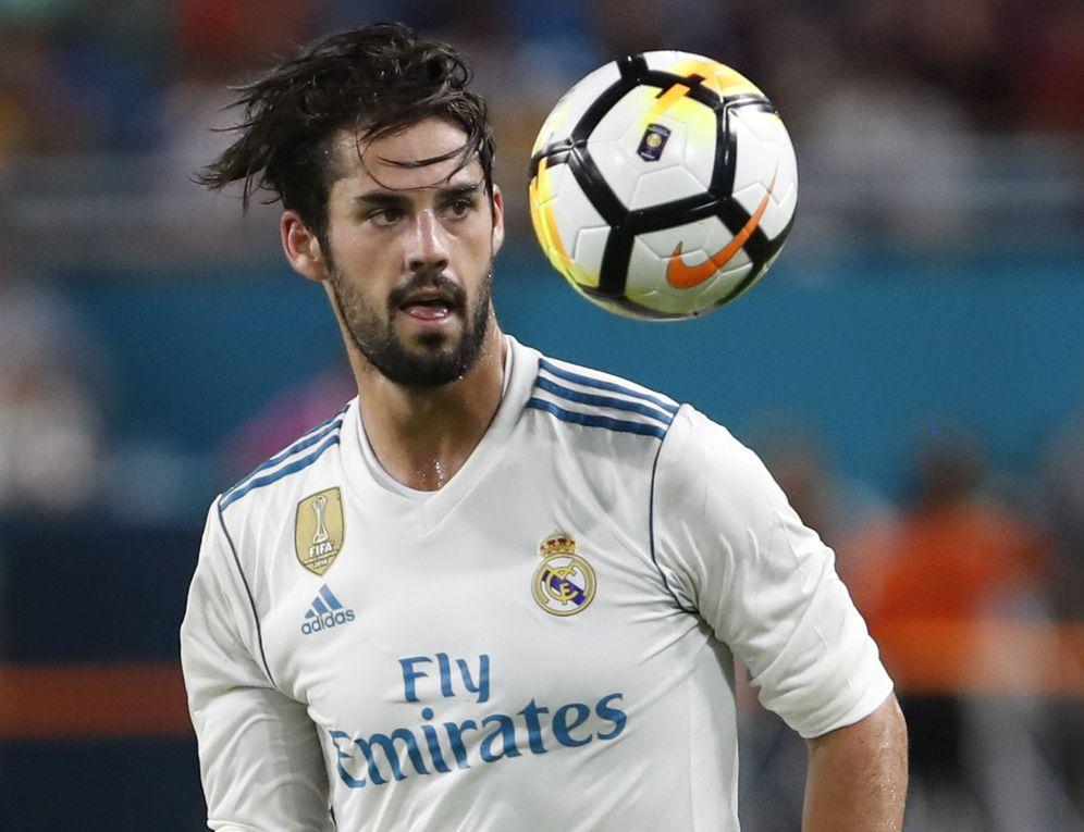 Foto: Isco ha firmado un nuevo contrato con el Real Madrid hasta 2022. (EFE)
