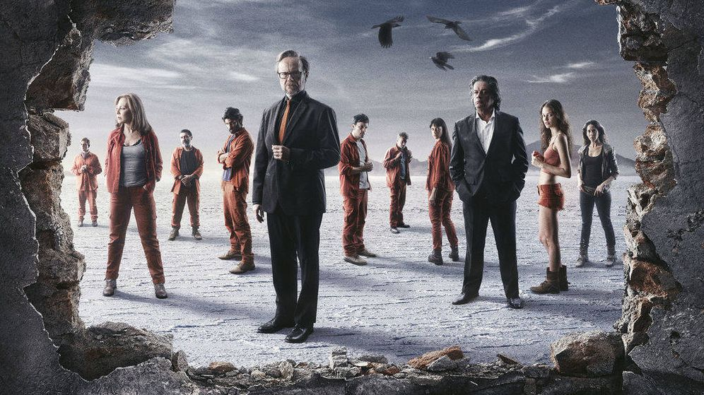 Foto: Los protagonistas de 'Supermax'. (Cuatro)