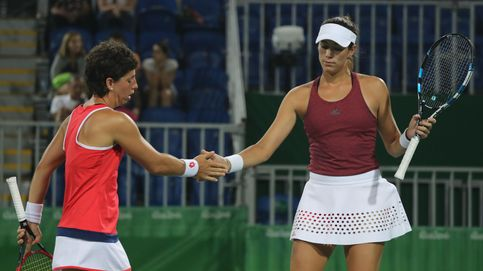 Garbiñe Muguruza y Carla Suárez, a cuartos de final del dobles femenino