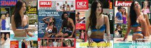 Los amores de Iker Casilllas, en las portadas de las revistas
