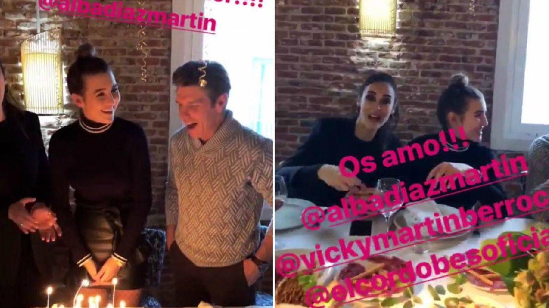 Imágenes del cumpleaños de Alba.(Instagram)