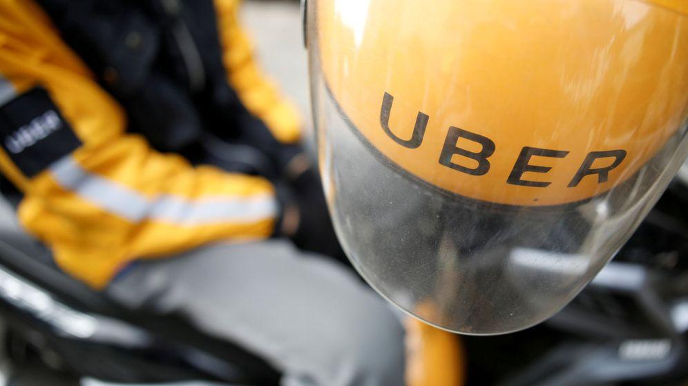 Foto: Un conductor de Uber   Reuters