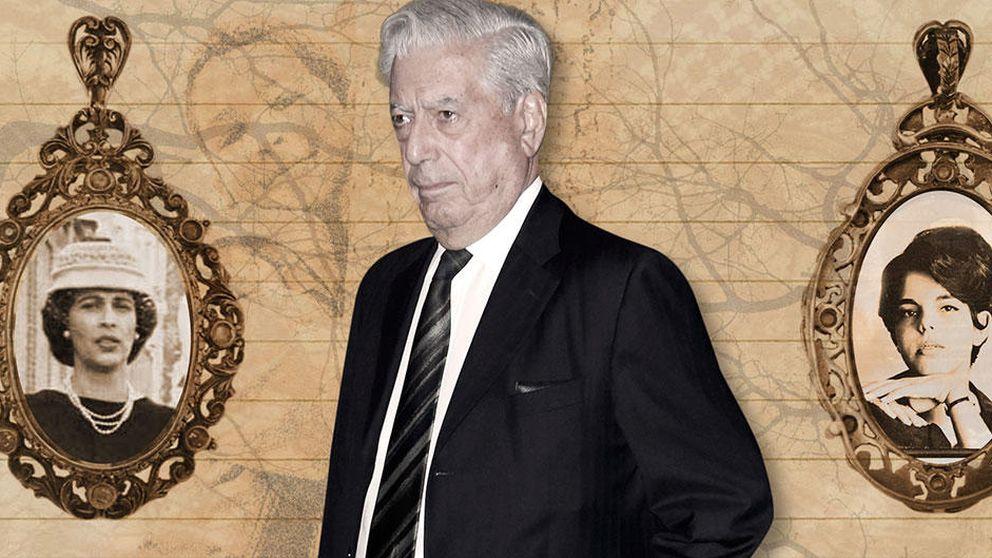 La novelesca vida amorosa de Vargas Llosa: así dejó a su tía por su prima