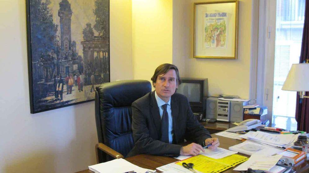 Foto: Álvaro Ballarín, número 7 por las listas del PP a la Comunidad de Madrid, podría llevar imputado desde enero (EFE)
