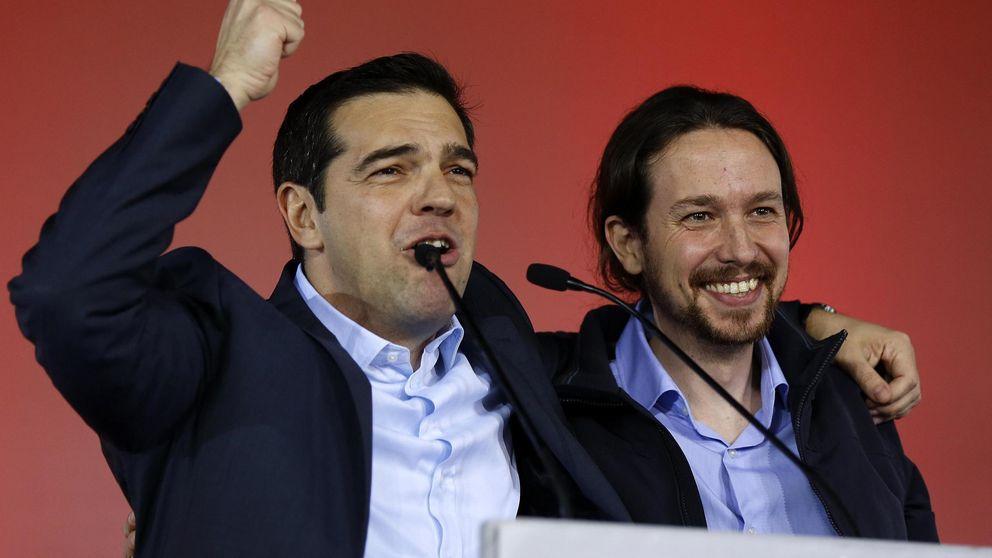 Pablo Iglesias vitorea a Tsipras: Gracias por resistir al chantaje