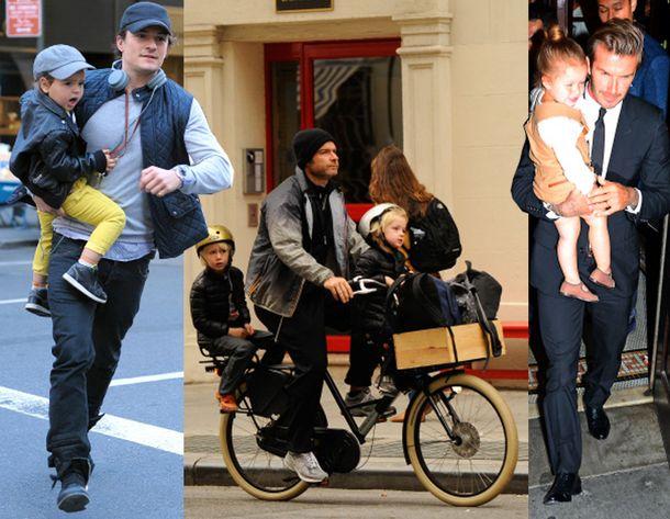 Foto: Manual de estilo: así visten los padres modernos como Beckham y Orlando Bloom