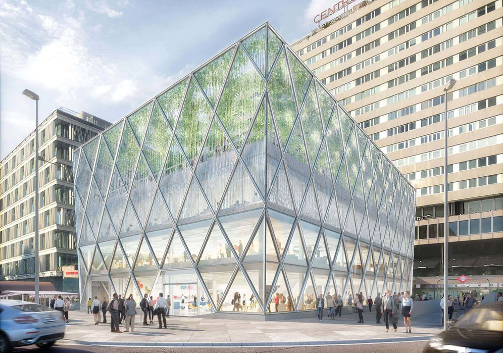 Foto: CaixaBank se instalará en el edificio Axis en la Plaza de Colón