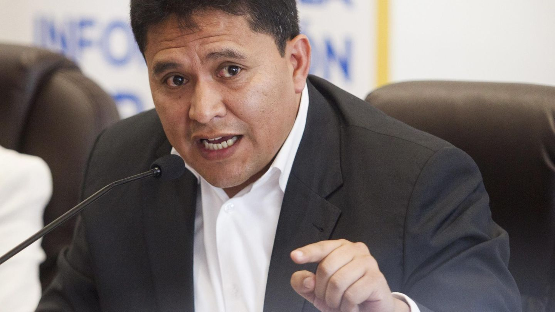 El exdirector de la Inteligencia Nacional de Ecuador, Ronny Vallejo, en 2015. (Reuters)