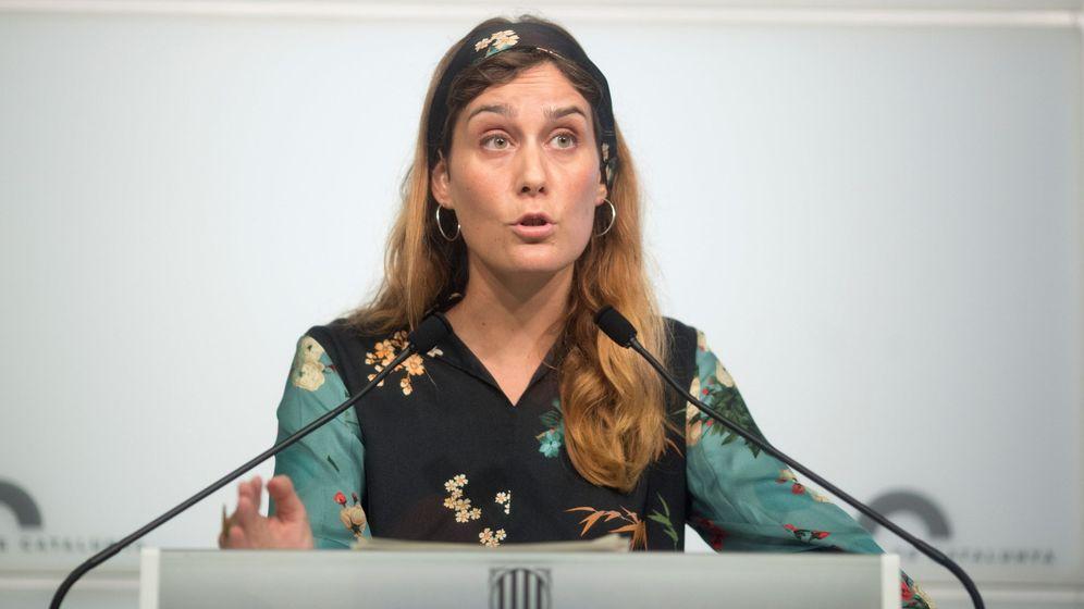 Foto: Jessica Albiach, presidenta del grupo parlamentario En Comú Podem. (EFE)