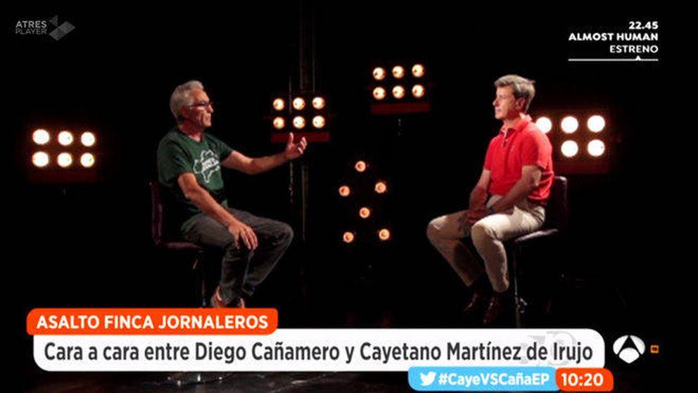 Cayetano Martínez de Irujo y Cañamero, cara a cara en 'Espejo Público'