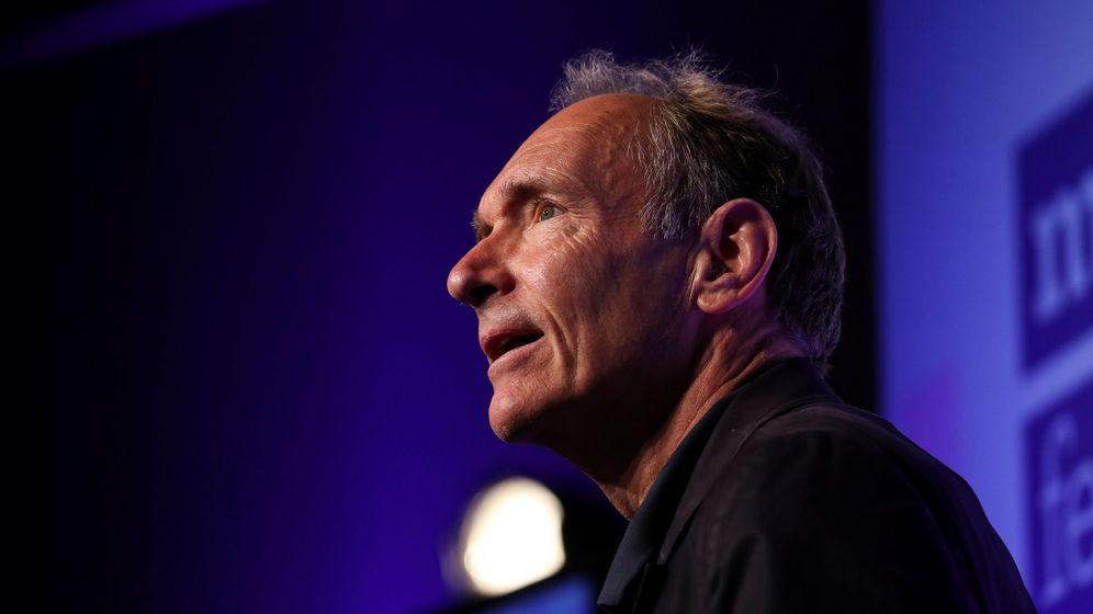Foto: Tim Berners-Lee, durante una conferencia reciente. (Reuters)
