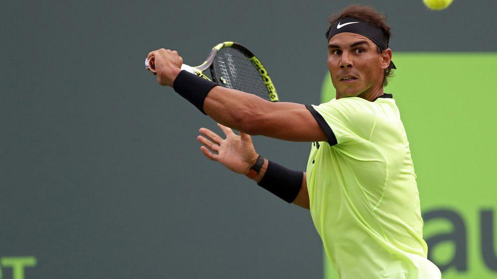 Foto: El Miami Open es el único Masters 1000 que se le resiste a Rafa Nadal. (Reuters)