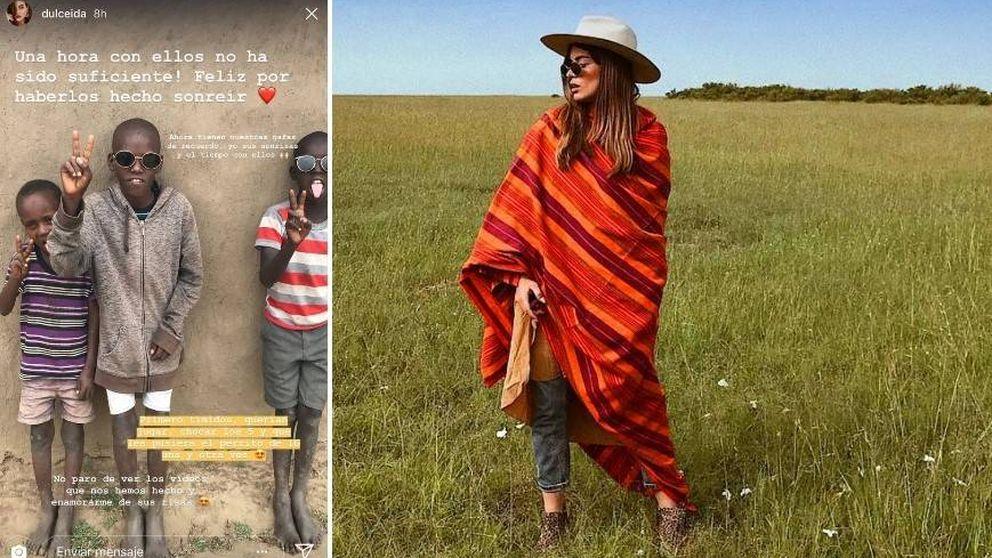 Polémica por las fotos de Dulceida en su viaje patrocinado a África