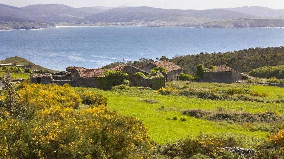 Foto: Una de las aldeas vendidas por Aldeas Abandonadas Real Estate en Galicia.