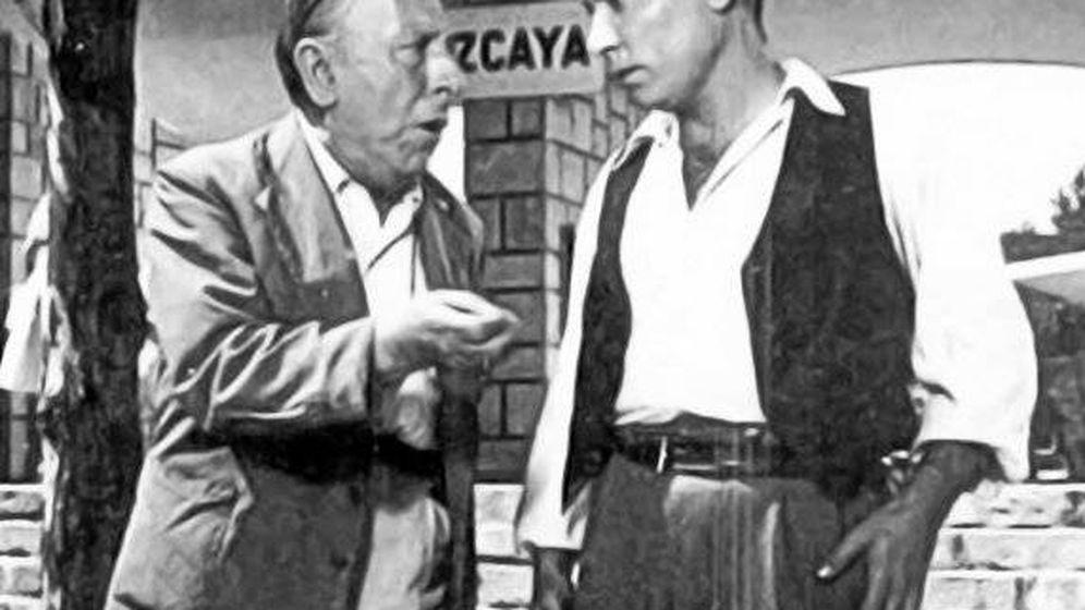 Foto: Pepe Isbert y Pedro Beltrán durante una escena
