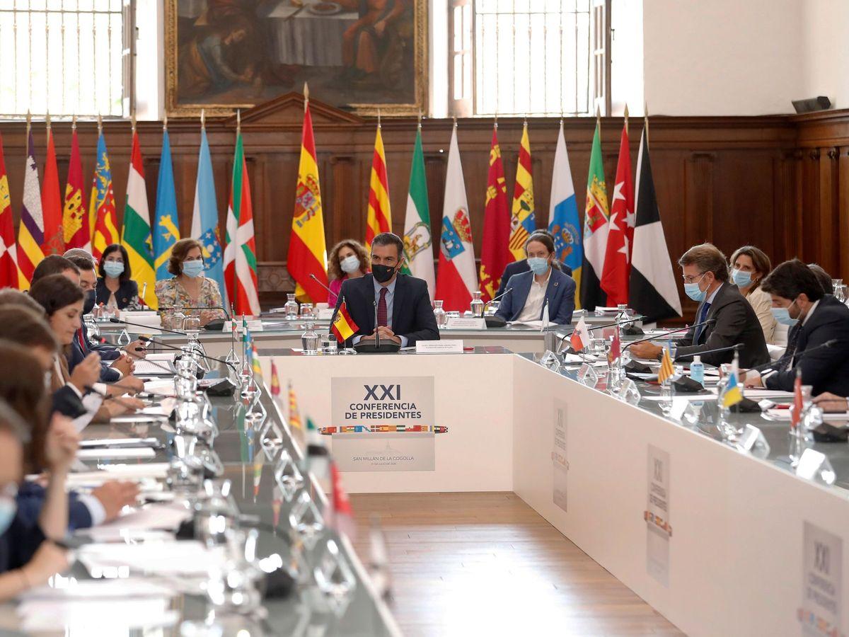 Foto: Conferencia de Presidentes de julio de 2020. (EFE)
