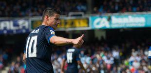 Post de James Rodríguez se aferra al Madrid, pero Florentino sueña  con hacer caja