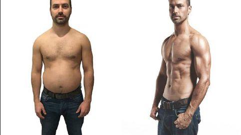 Este hombre perdió 10 kilos y se puso cachas en dos meses: así lo hizo
