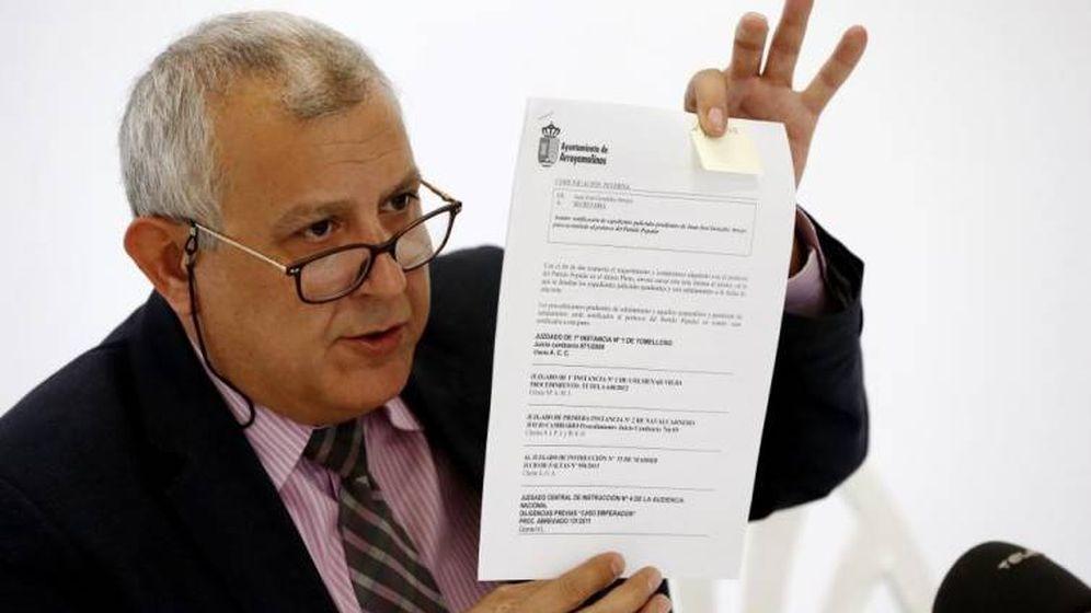 Foto: Juan José González Arroyo, alcalde en funciones de Ciudadanos.