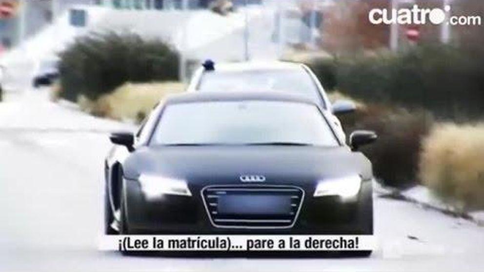 La policía persiguió a James Rodríguez por exceso de velocidad por la M40 cuando el jugador se dirigía al entrenamiento del Real Madrid el pasado 1 de enero.