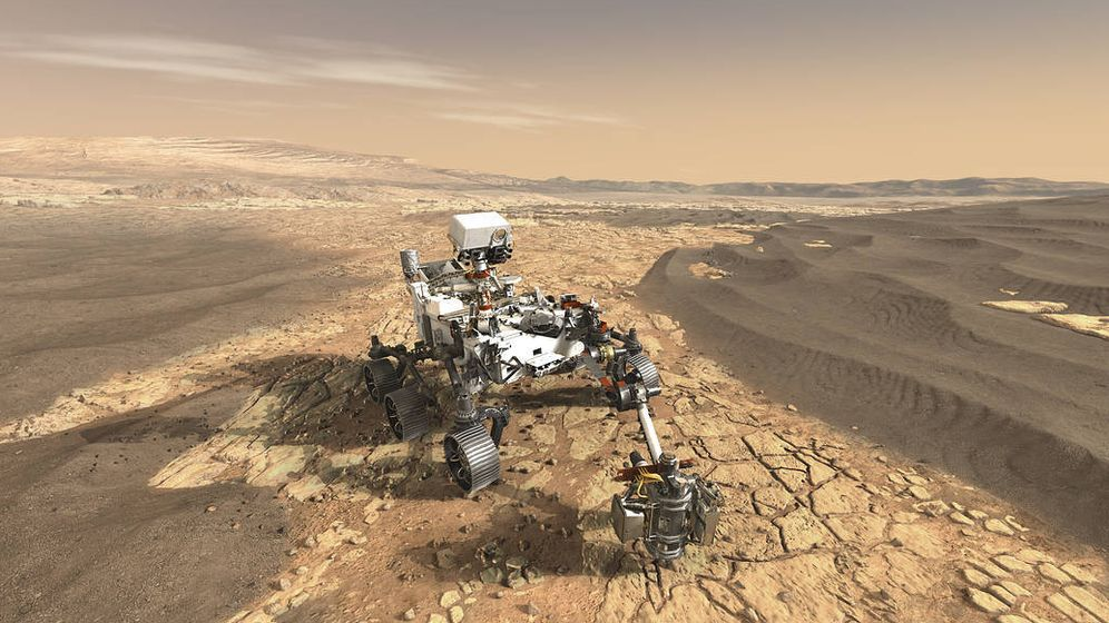 Foto: Mars 2020. (NASA)