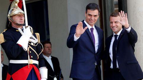 Sánchez y Macron defienden los centros de desembarco en suelo europeo