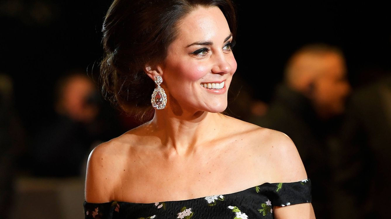 Foto: La duquesa de Cambridge en los Bafta (Reuters)