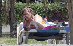 Las vacaciones 'secretas' de María Teresa Campos en el Caribe