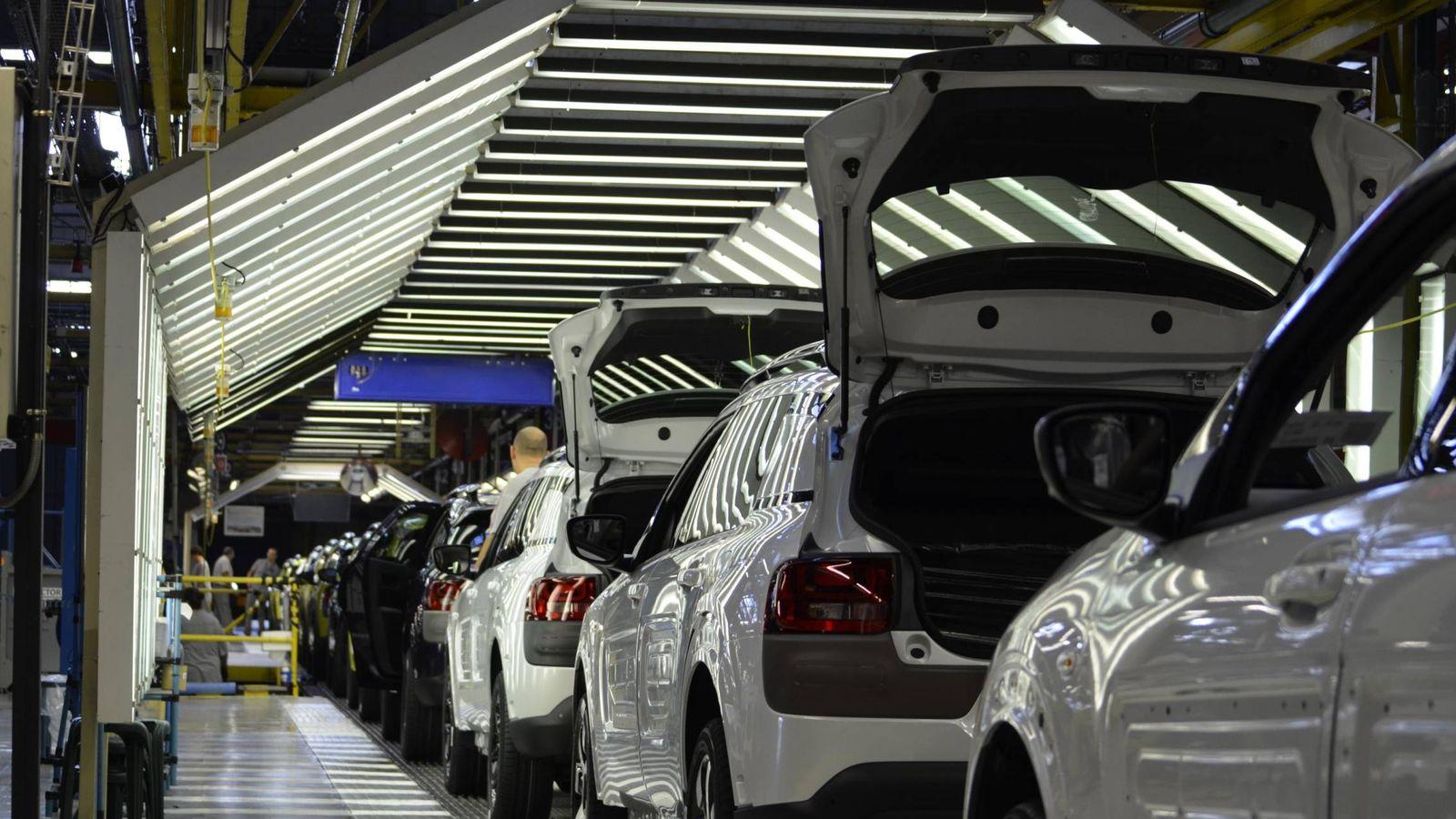 Foto: En la fábrica de PSA en Villaverde trabajan 1.446 personas.