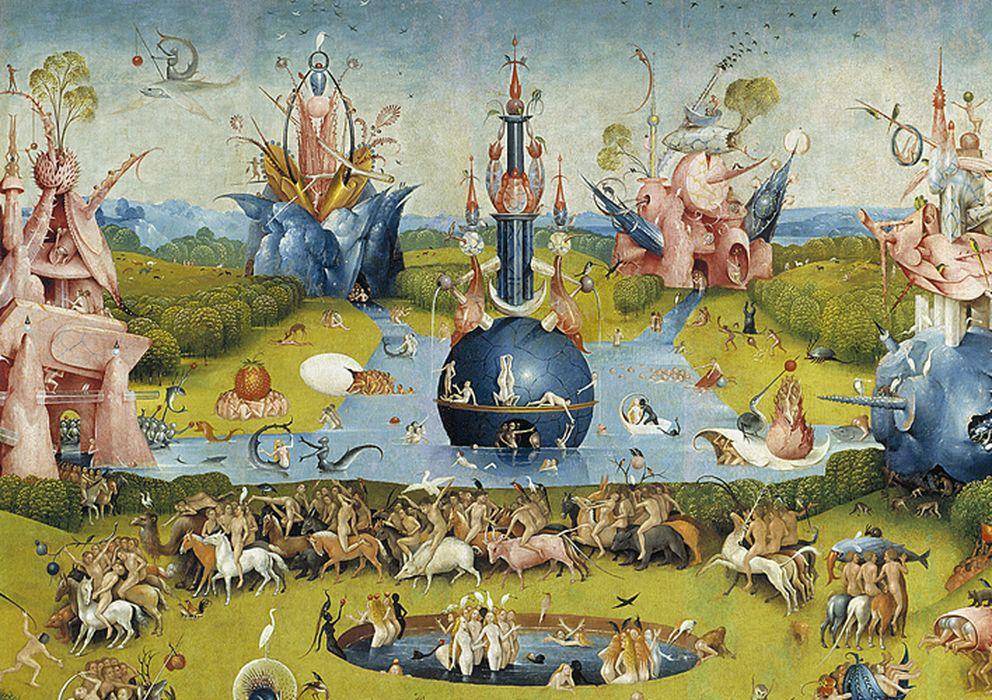 Foto: 'El jardín de las delicias', obra del Bosco que en estos momentos está en préstamo temporal en el Museo del Prado.