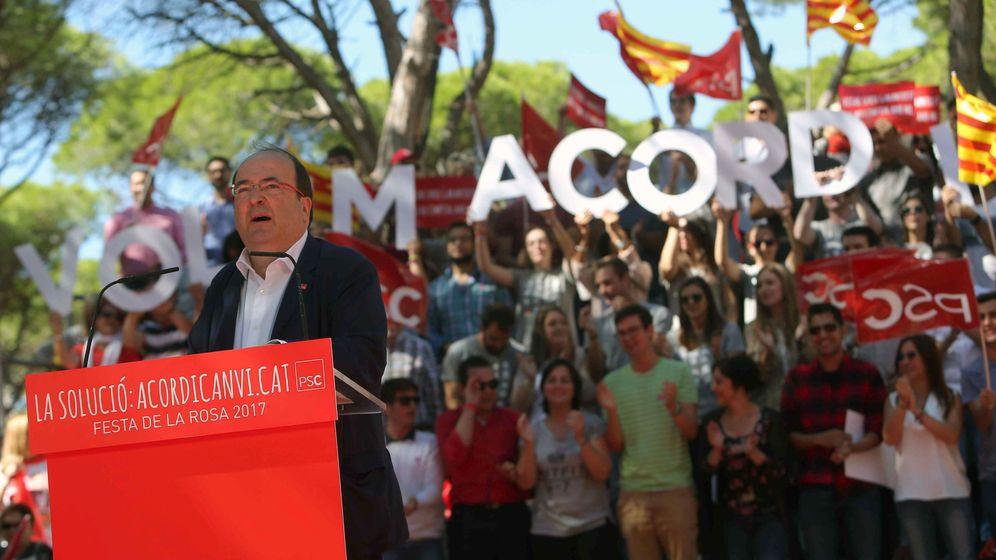 Foto: - El primer secretario del PSC, Miquel Iceta. (EFE)